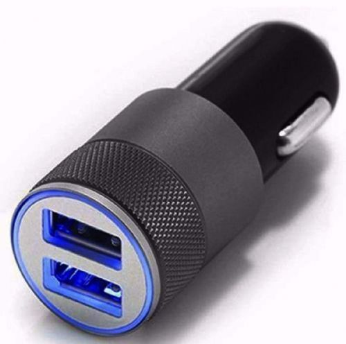 Car Charger Dual USB Port LED 2.1A 1.0A 12V For iPhone X 8 7 6 5 4 3 Plus iPad iPod Android Samsung